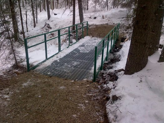 New Walking Bridges At Fish Creek Community Forest