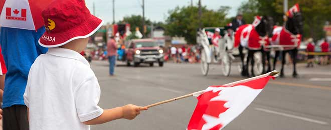 Canada Day Parade & Festivities - July 1st