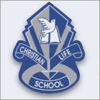 Image result for christian life school fort st john logo