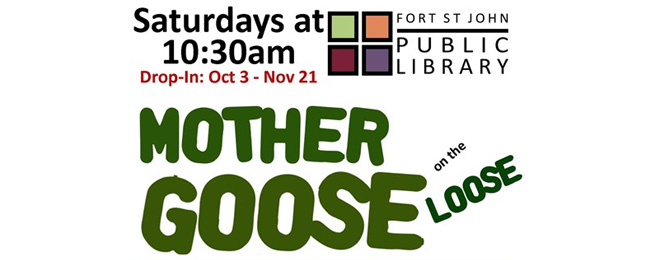 Mother Goose Is On The Loose - October 10th