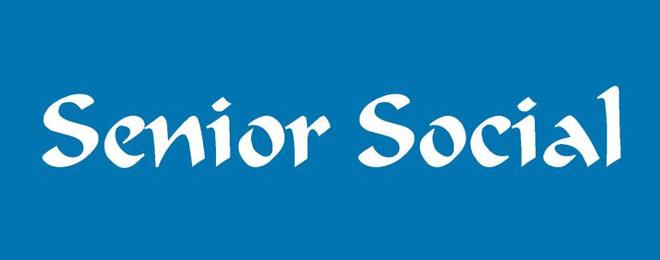 Senior Social - August 31st, 2016