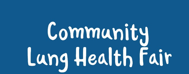 Community Lung Health Fair - November 2017