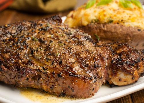Mr. Mike's Steakhouse Rib Platter